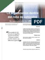 Organización Dentro Del Robo de Vehículos
