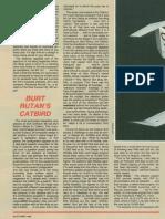 Catbird 1988-Burt Rutan