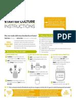 CFH Kombucha Starter Culture Instructions