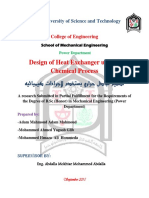 Design of Heat Exchanger...
