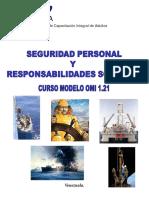 Seguridad Personal y Responsabilidades Sociales OMI 1.21
