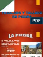 Traslado y Tallado de Piedra Los Incas