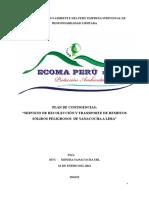 Plan Contingencias Ecoma Peru Mtc - Mysrl 2012 (1)