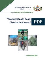 Bokashi en la provincia de Casma