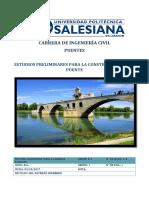 Estudios Previos Para Realizar La Construccion de Un Puente - Enviar