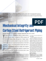 Mechanical Integrity and Carbon Steel Refrigerant Piping (Dettmers & Reindl 2007)