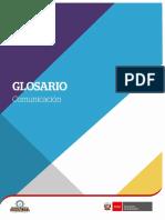 GLOSARIO COMUNICACION