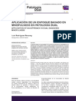 Mindfulness y Patologia Dual
