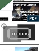 Efectos de La Problematica Ambiental