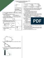 Examen RECUPERACION Periodo II Decimo v1