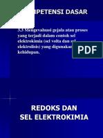 Ppt Redoks Dan Elektrokimia