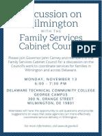FSCC Discussion on Wilmington 11-13-17