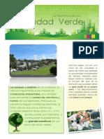 Boletín Ambiental Ciudad Verde