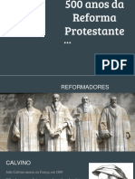 500 Anos Da Reforma Protestante (1)