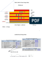 TSMC035um Thickness Rule