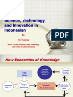 Ary Syahriar - Science, Technology and Innovation Plangkaraya