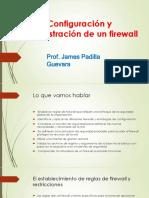 Configuracion y Administracion de Un Firewall