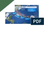 Calea Uraganului Irma