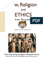 Law, Religion and Ethics