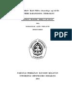 Laporan PKL Ikan Peda UD. DANIRIH INDRAMAYU