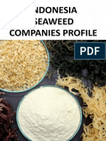 Indonesia Seaweed Companies Profile
