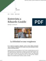 Entrevista a Eduardo Lizalde _ Iván Trejo
