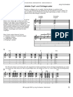Schlag Zupfmuster - 30 popular plucking and striking patterns for Guitar (document is in German, with guitar sheet music)