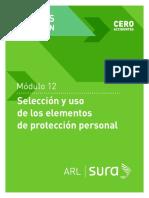 Selección y Uso de EPP