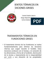 Tratamientos Térmicos en Fundiciones Grises