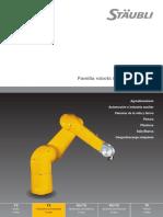 Especificaciones de Modelos de Robot Para Pintura