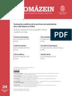 Evaluación analítica de la escritura de estudiantes de 4º año básico en Chile.pdf