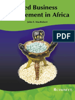 Seed Business Management in Africa