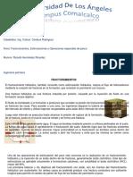 Fracturamiento, Estimulacion y Operaciones de Pesca