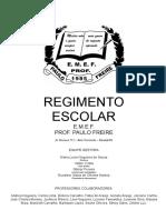 Regimento Escolar Paulo Freire Atualização 2017