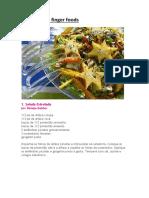 Saladas Para Finger Foods