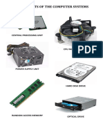 Components of the Computer Systems
