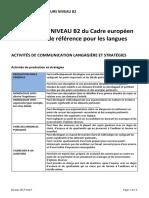 CECR niveau B2