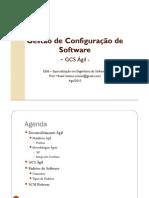 Gestão de Configuração de Software Ágil