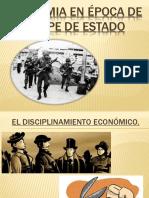 Economia en Época de Golpe de Estado