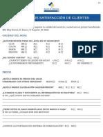 Encuesta Satisfaccion Albacete Fillout