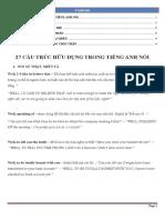 27 Cấu Trúc Hữu Dụng Trong Tiếng Anh Nói