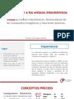 Diapositivas - Introduccion a Los Enlaces Interatomicos