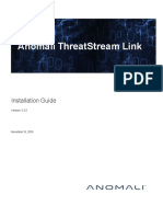 Anomali ThreatStream