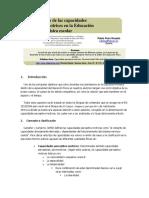 Desarrollo de Las Capacidades Motrices en La Educación Física Escolar