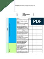 Diagnostico Sistema de Gestión de La Seguridad y Salud en El Trabajo