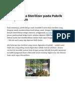Sistem Kerja Sterilizer Pada Pabrik Kelapa Sawit _ Mesinpks.com