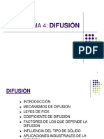 Tema 4. Difusion2017