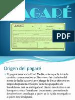 Pagaré-Exposición
