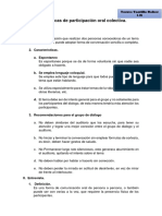Técnicas de Participación Oral Colectiva.