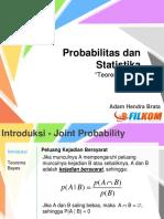 Probabilitas Dan Statistika Teorema Baye